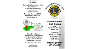 Ken Parker Memorial Golf Outing @ Piper Glen Golf Course & Social Club