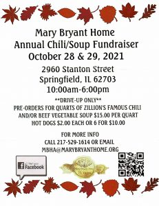 MBH Chili Supper @ Mary Bryant Home